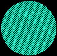 Bola em verde claro